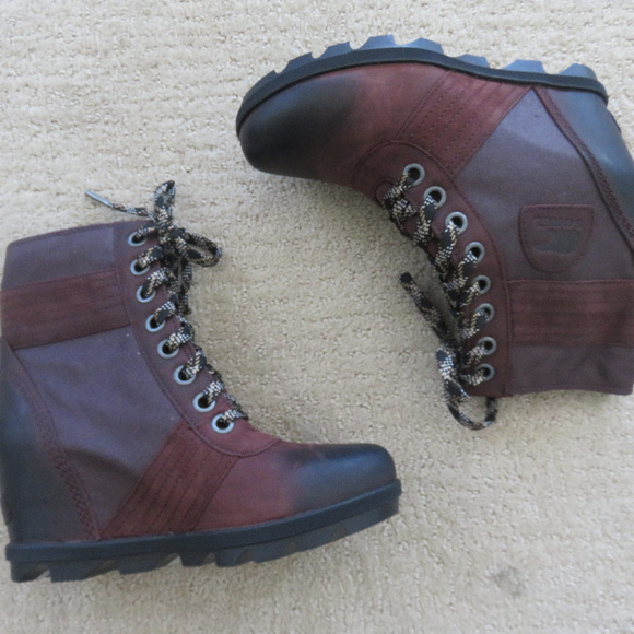 b083cce2c49c6 Sorel Shoes | New Lexie Wedge Boots 36 65 375 7 38 385 | Poshmark